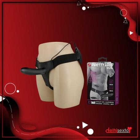 Black Beaded Glass Dildo Sex Toy GD-005